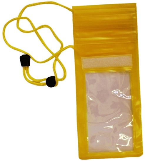 Picture of Waterproof Case - Universal Durable Underwater Dry Bag, Touch Responsive Transparent Windows, Watertight Sealed System - Yellow