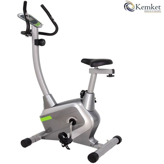 Picture of Premium Magnetic Exercise Bike Fitness with 5kgs and 4kg Inner Magnetic Flywheel , Hand Pulse Sensors & 8-level resistance adjustable system -Image & Colour Slightly may vary Kemket *LIMITED OFFER*