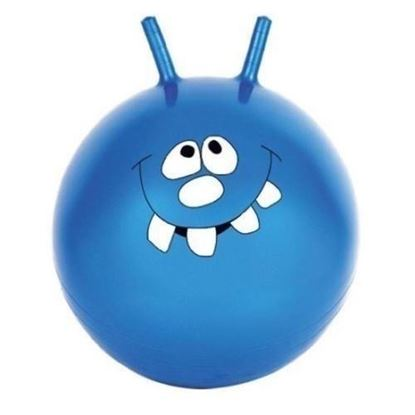 Picture of Kemket Jump & Bounce Space Hopper - Adult/Kid Outdoor Toy BLUE