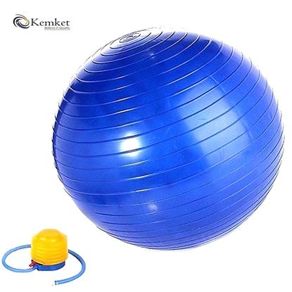 Picture of Kemket Massage Yoga Exercise Ball, 65cm / 85cm Yoga Sport Ball Sensory Massage Trigger Point for Full Body Muscle Reflexology, yoga ball explosion-proof, fitness yoga ball also for pregnant women