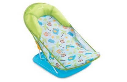 Picture of Deluxe Baby Bather 3 position backrest recline Small Blue Green