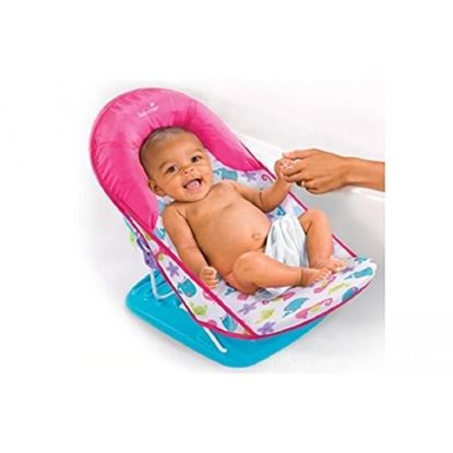 Picture of Deluxe Baby Bather 3 position backrest recline Small Blue Pink