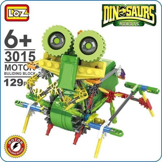 Picture of LOZ ideas Motor Building Block Robotic Ankylosaur ankylosaurus Machine Dinosaur Robots Action Toys DIY kids Gift Fun Toy 3015