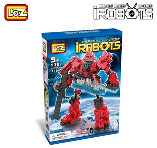 Picture of LOZ Blocks Character Mirco Brick Nano Plastic Assembly Robot Toys for Children Superhero Anime Transform Building Toy DIY 9351