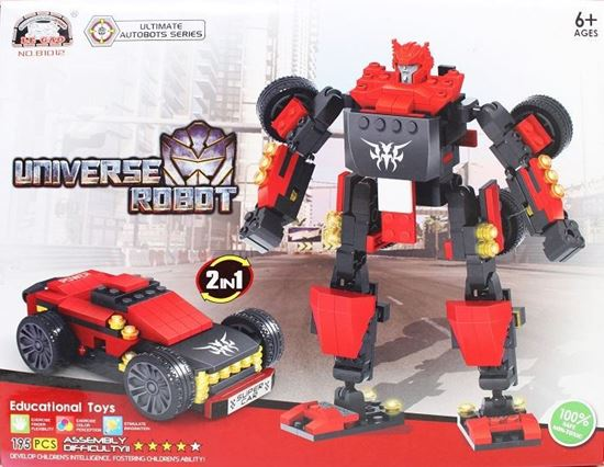 Picture of Le Gao Building Blocks Universe Robot No.81012