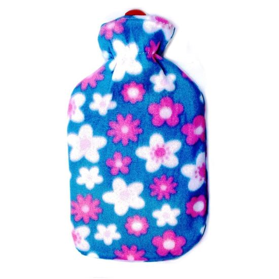 Picture of Hot water Bag with fleece 2L LIGHT GREEN