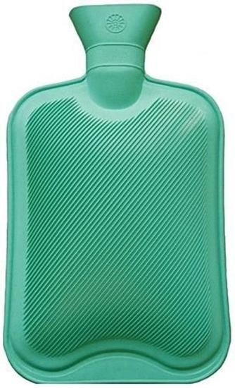 Picture of Hot Water Bottle Green  2L