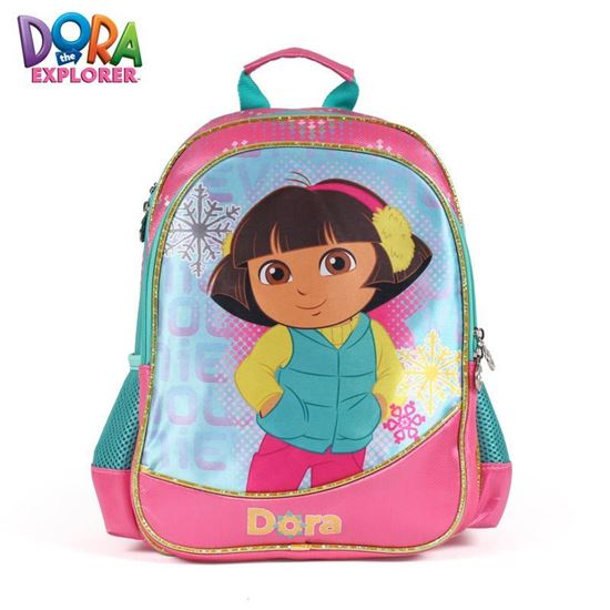 Picture of Dora the Explorer genuine pupils 213 grade burden backpack School  bag with Pencil case
