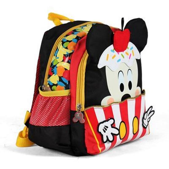 Picture of Mickey Small backpack bag 12 X 11 X 3  inch RED