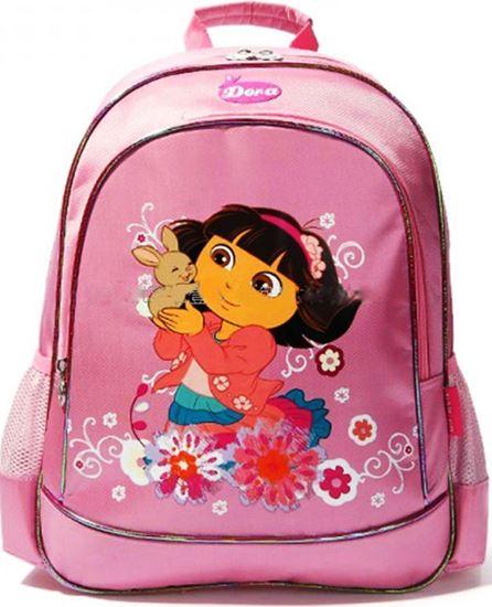 Picture of Dora The Explorer  Backpack School Bag Rabbit Pattern for Kids Girls Pink