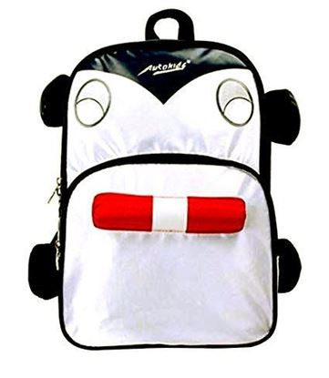 Picture of Autokids Child Backpack Anti-lost The Fire Engine Car Design Bag (BLACK)