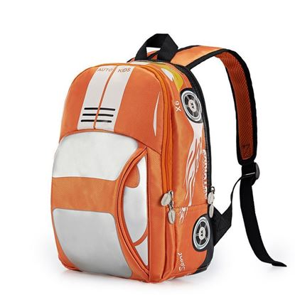 Picture of Autokids Child Backpack Anti-lost The Car Design Bag (ORANGE)
