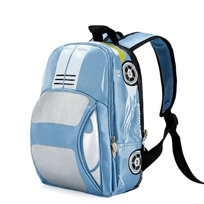 Picture of Autokids Child Backpack Anti-lost The Car Design Bag (BLUE)