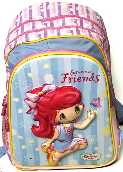 Picture of Glossy Bird Friend's Design Sling School Bag with light 37CM X 28CM X 16CM