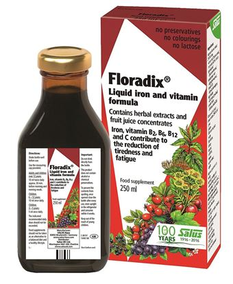 Picture of Floradix Liquid Iron and Vitamin Formula 250ml