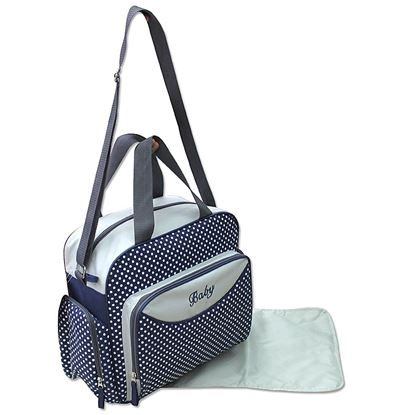 Picture of Baby Kingdom 3-Part Baby Changing Bag Blue