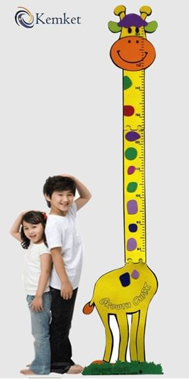 Picture of hildren's Height Chart: Perfect for a Childs Bedroom or Baby Nursery Height Chart(1.5m)