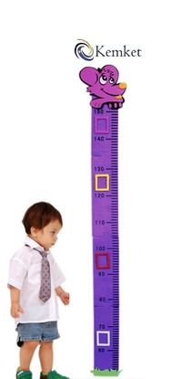 Picture of Children's Height Chart: Perfect for a Childs Bedroom or Baby Nursery Mouse Design Height Chart(1.5m)
