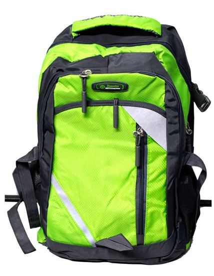 Picture of Travel Bags Waterproof Resin Mesh System Outdoor Camping Travel Hiking Backpacks Bag GREEN