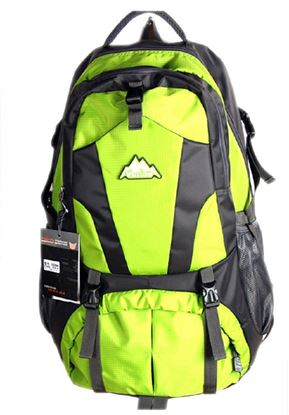 Picture of Men Travel Bags Waterproof Resin Mesh System Outdoor Camping Travel Hiking Backpacks Bag Green
