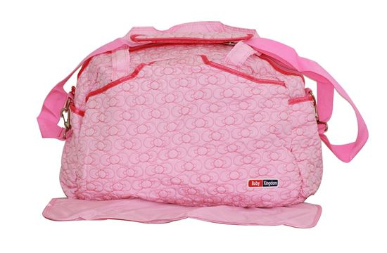 Nappy Diaper Changing Bags Set Pink