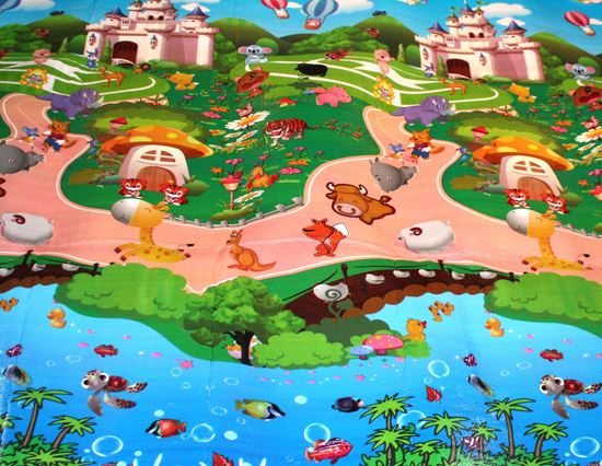 Picture of Play Mat Double-side High Quality Baby Crawl Mat Size : 150x180 cm  NUMBER (0-9) PLAY GARDEN