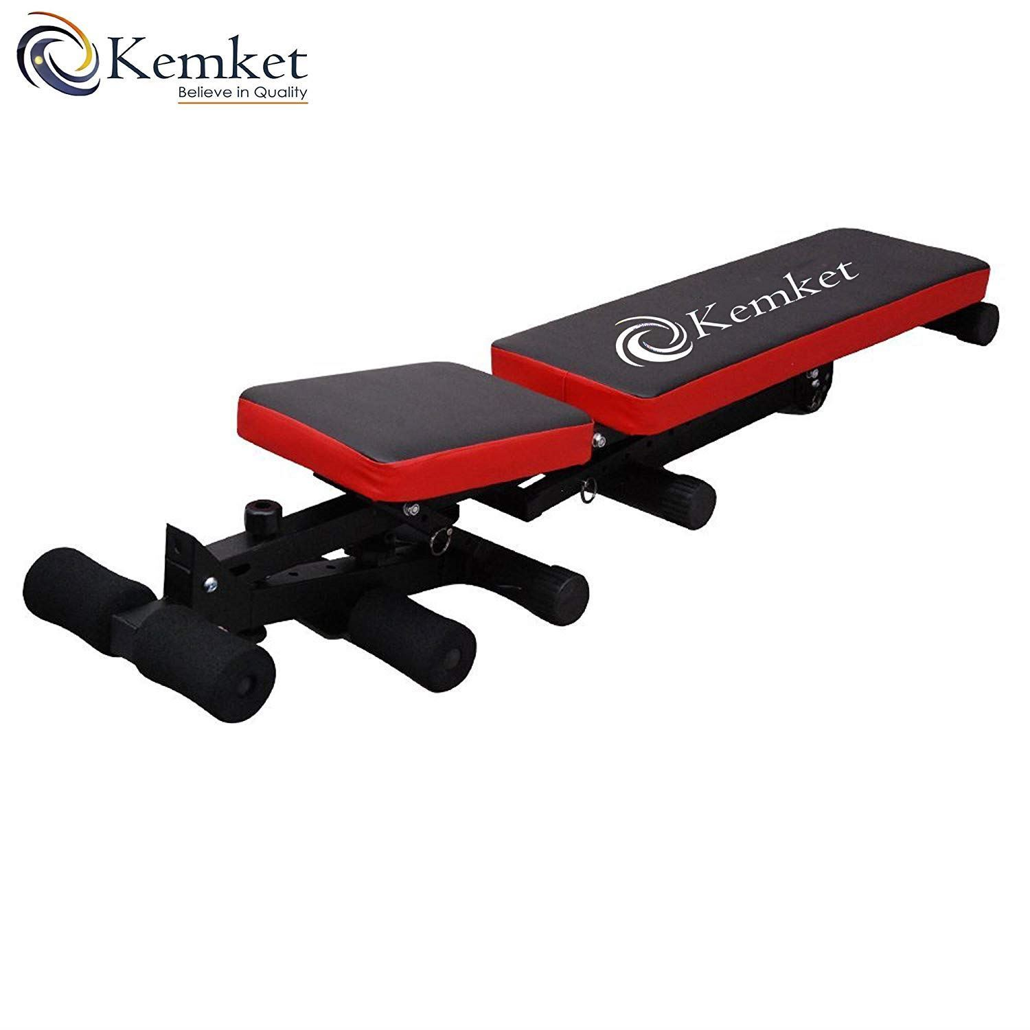 Astircare Ltd Fully Adjustable Folding Gym Weight Bench Home Workout Bench Height Adjustable
