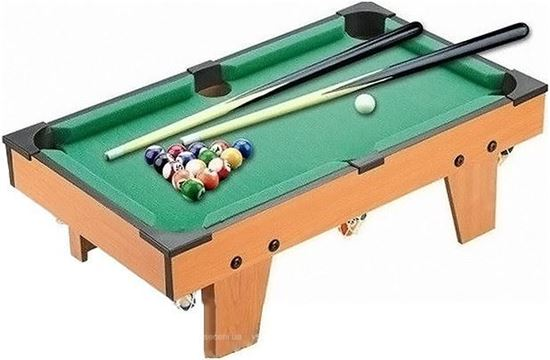 Picture of Indoor sports snooker billiard game portable pool table 74.5X41X16.5 cm