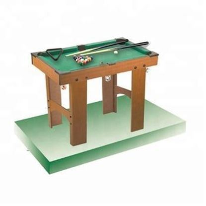 Picture of Indoor sports snooker billiard game portable pool table 97X53.5X64 CM