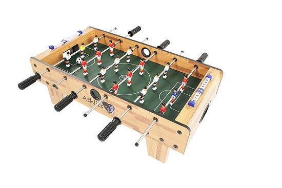 Picture of Kemket Table Football Foosball Soccer Indoor Outdoor Gaming Games Play Arcade Sports Fun  69X37X24(L X W X H) cm