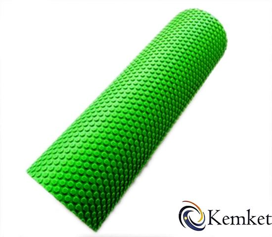 Picture of Kemket Yoga EVA Foam Roller 15cmx45cm - Yoga, Pilates, Fitness Routines, Rehabilitation Training, Stretching, Improving Core Muscles, Strength, Posture, Stability, Massage Therapy