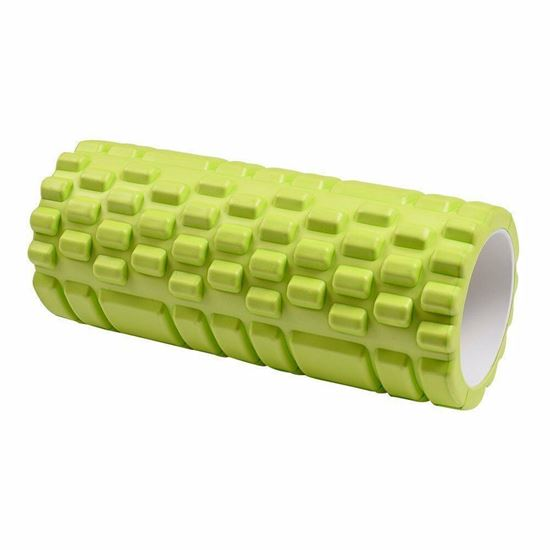 Picture of Massage Foam Roller Enjoy For Pilates, Physio, Muscle Rehab, Yoga, Gym & Fitness- Limegreen
