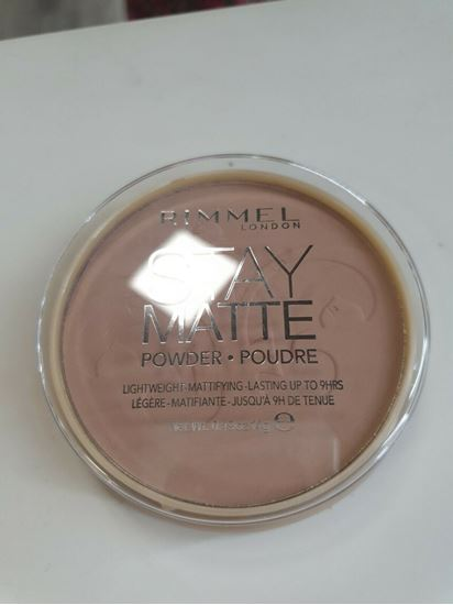 Picture of Rimmel Stay Matte Compact Pressed Powder- CREAMY BEIGE 118