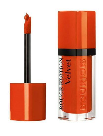 Picture of Bourjois Rouge Edition Velvet Matte Finish Lipstick - ORANGINAL 30