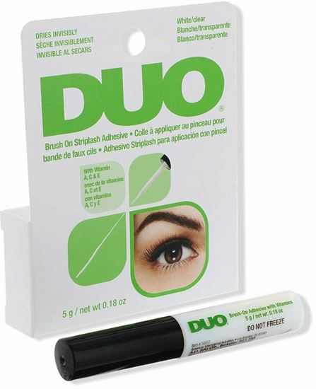 Picture of DUO Quick-Set Strip Lash Adhesive - WITH VITAMINS WHITE 5G
