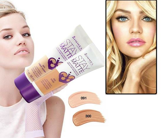 Picture of Rimmel Stay Matte Liquid Mousse Foundation 30ml-LIGHT IVORY 091