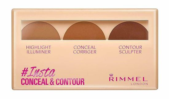 Picture of Rimmel Insta Highlight Conceal & Contour Palette- MEDIUM 020