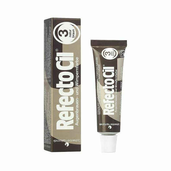 Picture of Refectocil Natural Brown Eyelash and Eyebrow Tint - 15 ml