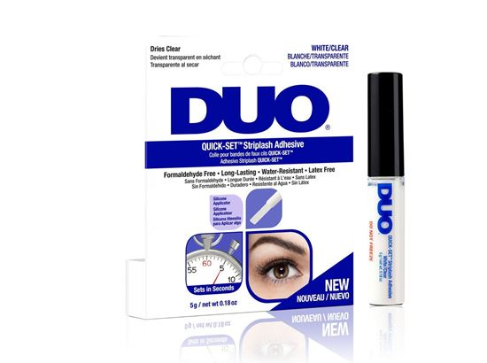 Picture of DUO Quick-Set Strip Lash Adhesive- WHITE/CLEAR 5G