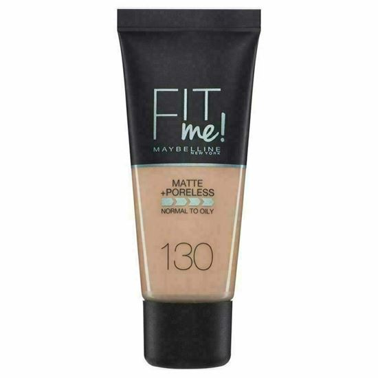 Picture of Maybelline Fit Me Matte & Poreless Foundation 130 Buff Beige 30ml
