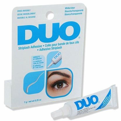 Picture of DUO Strip Lash Adhesive 7g- WHITE/CLEAR