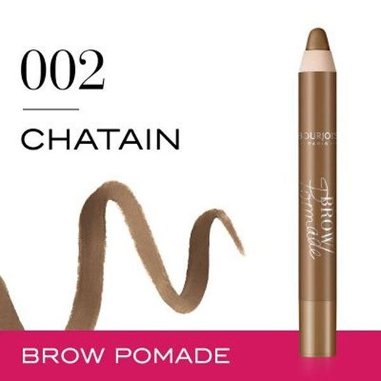 Picture of Rimmel Brow This Way Brow Pomade Pencil- Chatain 02