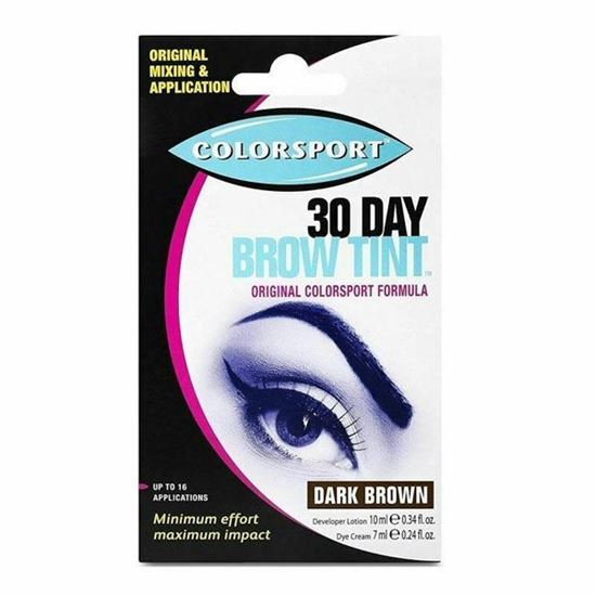 Picture of Colorsport 30 Day Brow Tint - Dark Brown