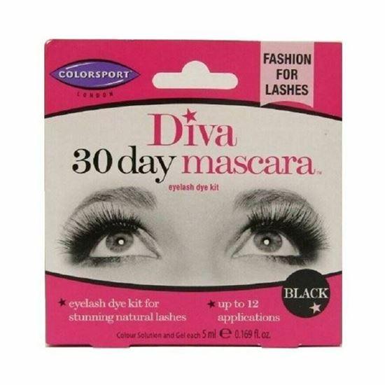 Picture of Colorsport Diva 30 Day Mascara - Eyelash Dye Kit - Black