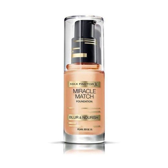 Picture of Max Factor Miracle Match Foundation 35 Pearl Beige 30ml