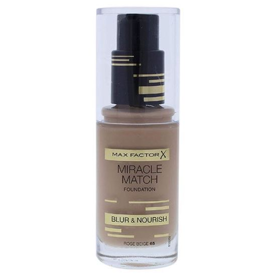 Picture of Miracle Match Foundation by Max Factor 65 Rose Beige 30ml 30ml