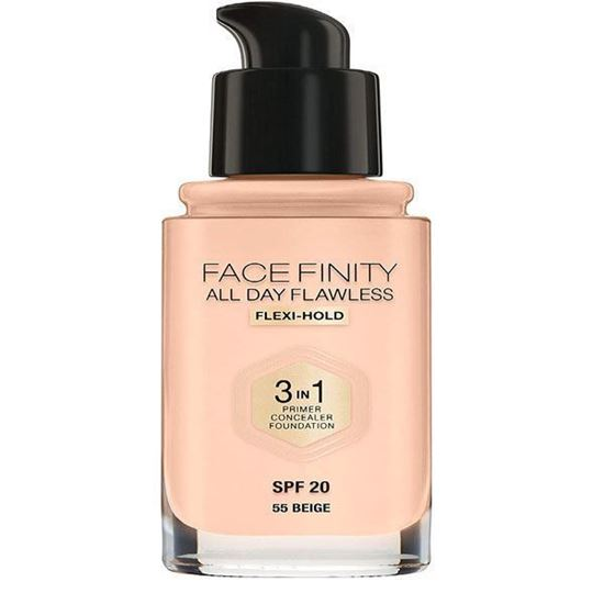Picture of Max Factor Facefinity All Day Flawless 3 In 1 Foundation - No. 55 Beige