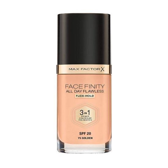 Picture of Max Factor Facefinity All Day Flawless 3 In1 Foundation Spf 20 - Golden 75