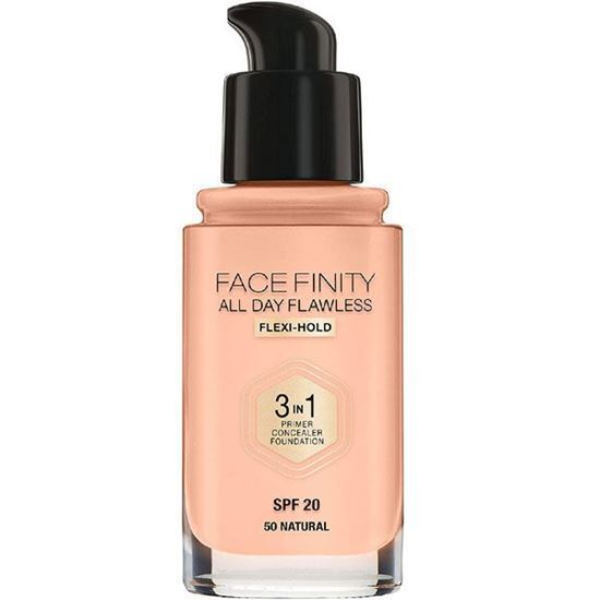Picture of Max Factor Facefinity All Day Flawless 3 In 1 Foundation - No. 50 Natural