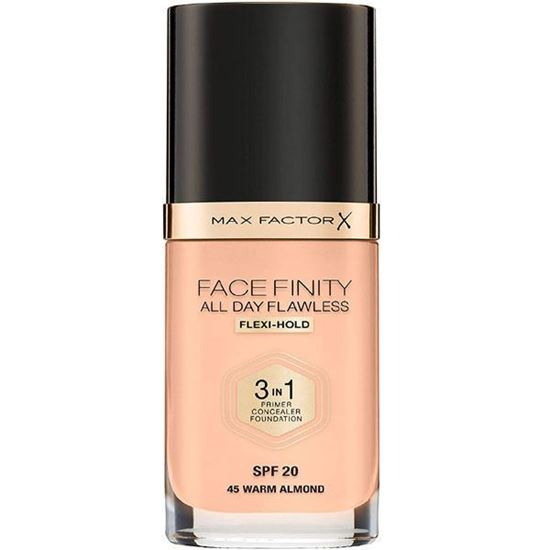 Picture of Max Factor Facefinity All Day Flawless 3 In 1 Foundation - No. 45 Warm Almond